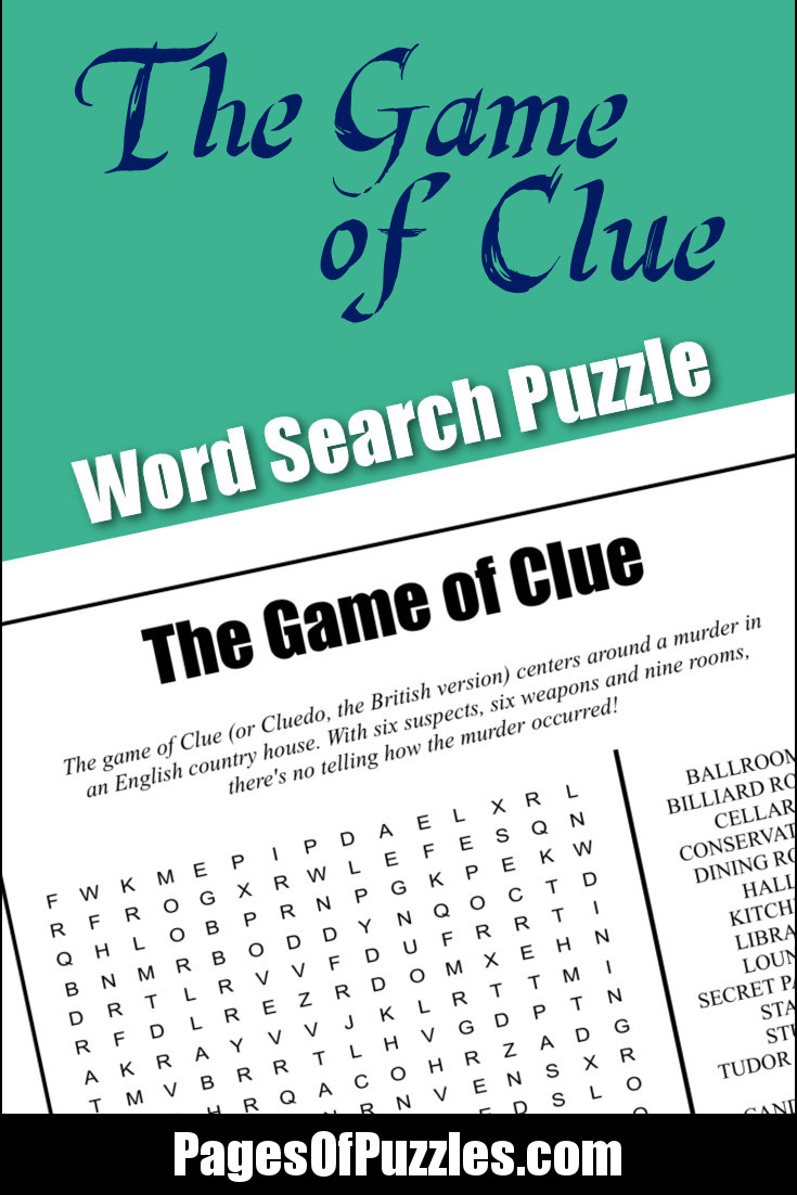 word clue puzzles