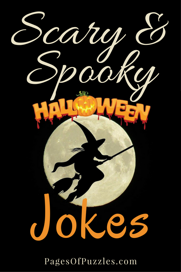 Scary and Spooky Halloween Jokes