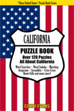 California Puzzle Book from PagesOfPuzzles.com